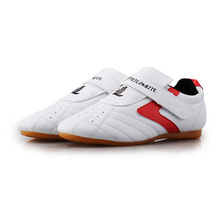 Tae kwon do Martial Arts Sneaker Shoes Breathable Wear resistant kickboxing Professional Training Taekwondo Shoes Kids