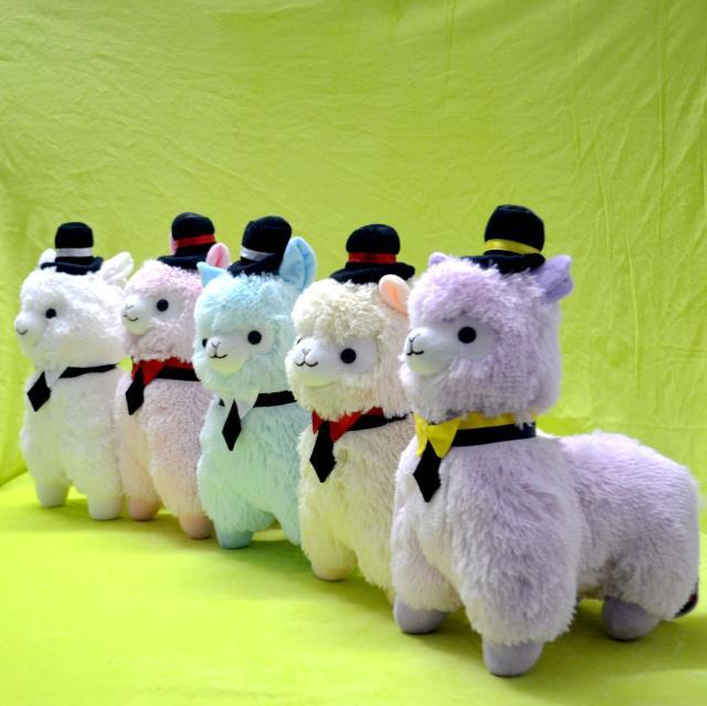 35cm Hat Llama Alpacasso Alpaca Plush Toy Doll Stuffed Animal Wedding Christmas Birthday Valentine Gift