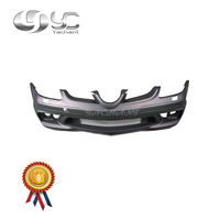 Car Styling FRP Fiber Glass Front Bumper Bar Fit For 2005 2008 R171 SLK Class AMG Style Front Bumper with Fog Lamp