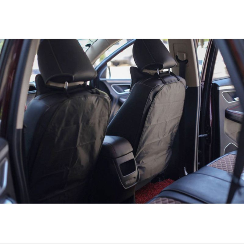 Case Back-Cover Car-Seat Protect Waterproof 2pcs Anti-Kick-Mats Wear-Resistant Easy-Clean