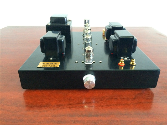 A class power amplifier kit 12AX7+6P1+5Z4PA tube amplifier kit HiFi tube amp finished