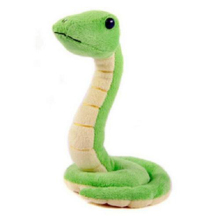 цена на Funny Snake Plush Toy Small Soft Stuffed Animal Cartoon Tricky Doll Cute Kawaii Pplush Kid Children Birthday Gift Baby Girl Boy