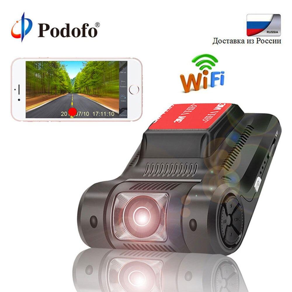 Podofo D'origine Novatek 96658 Mini WiFi Voiture DVR Caméra Registrator Dash Cam FHD 1080 p WDR Vision Nocturne Numérique Vidéo enregistreur