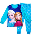 Boys Sleepwear Girls Pyjama Baby Clothes Children Clothing Set Kids Pijamas Sets Girls Snow Queen Elsa Anna Princess Pajamas set