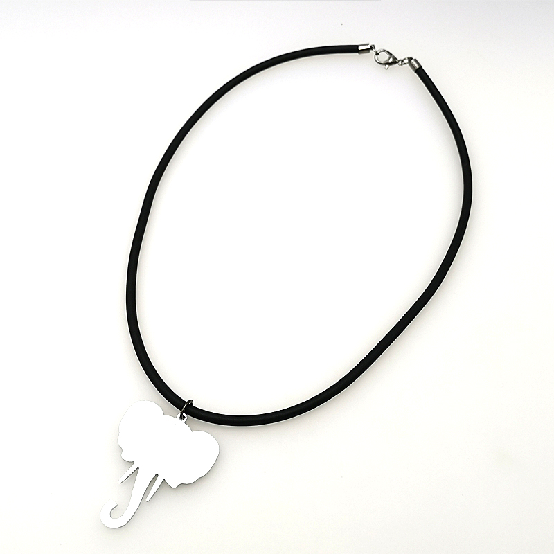 YD YDBZ Elephant Animal Pendant Necklaces Women Collar Chains Fashion 2019 New Simple Necklace Girl Gifts Handmade DIY Jewelery in Pendant Necklaces from Jewelry Accessories