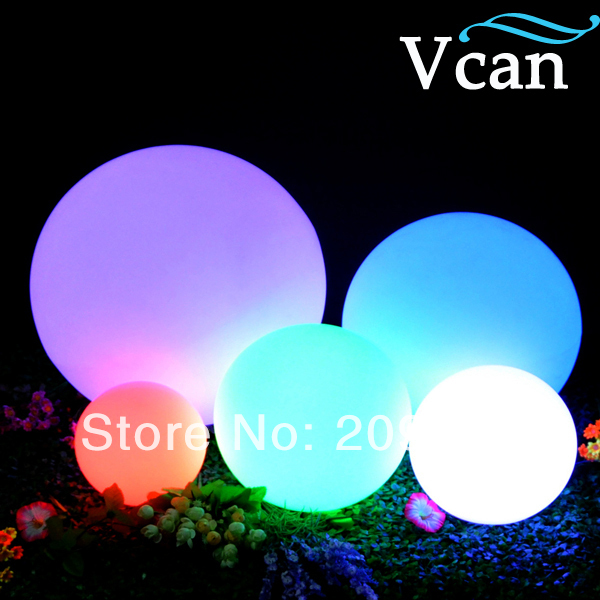 LED Ball With Lights waterproof ip68 floating on pool 25cm VC-B250