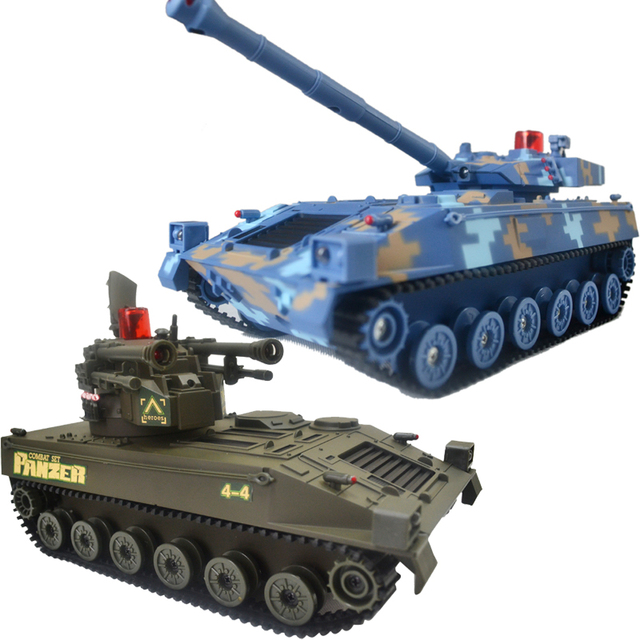 Ultralarge infrared rc eagle 's tank model gift tank car toy remote control car 2