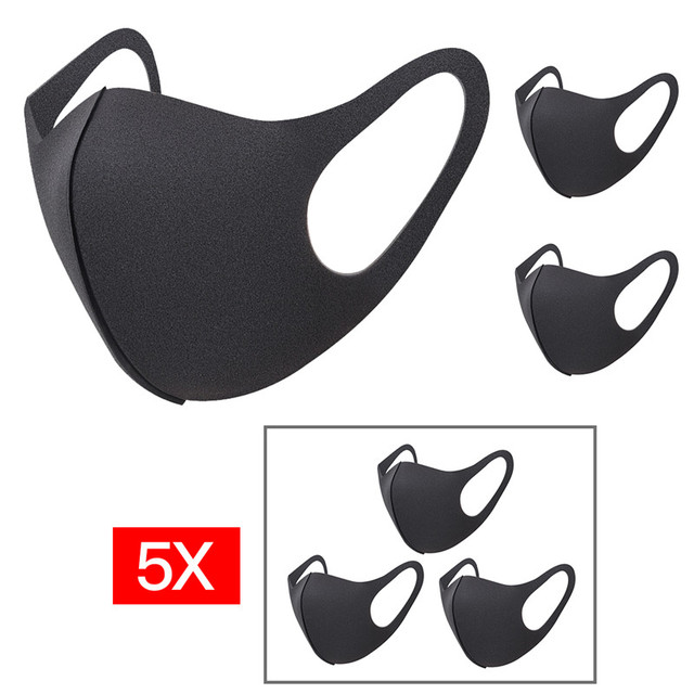 12pcs 9pcs 6pcs 3pc Unisex Mouth Masks  Anti Dust Face Mouth Cover PM2.5 Mask Dustproof Anti-bacterial Outdoor Travel Protection