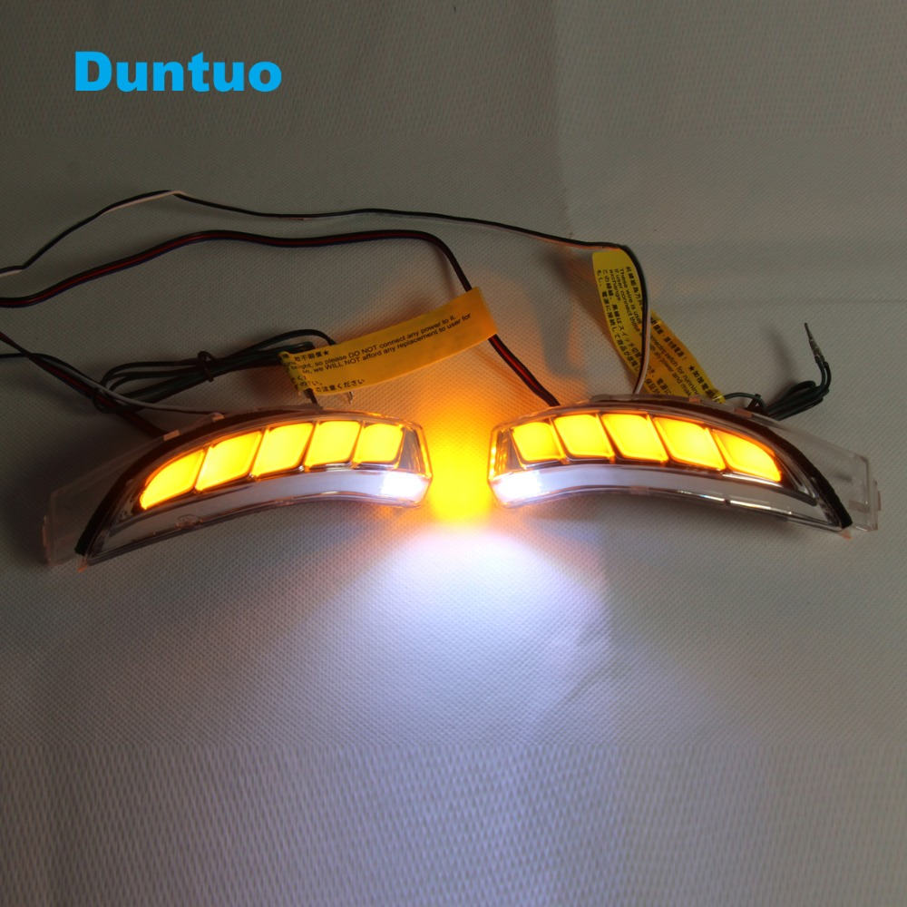 Flowing Turn Signal Lamp Rearview Mirror Running Light For Toyota C HR CHR