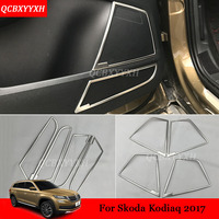 4pcs Lot Car Styling Stainless Steel Car Door Horsing Sequins Door Speaker Sound Ring Decorative Sequins