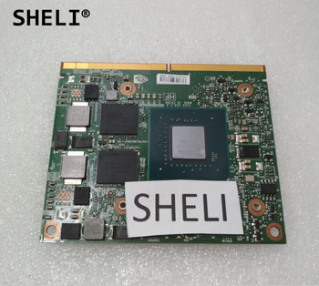SHELI 51FCV 051FCV CN-051FCV M2000M N16P-Q3-A2 4G GDDR5 VGA Video Graphics Card For DELL M7510 7510