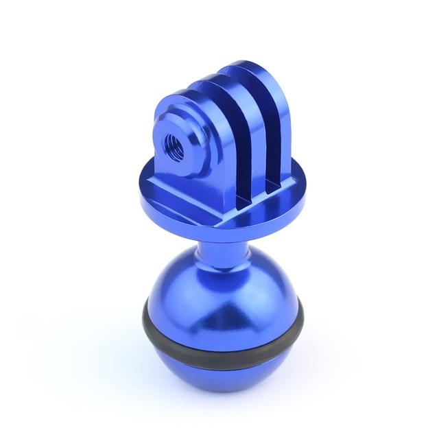 CUHAWUDBA 360 Grado di Rotazione Treppiede Testa Un Sfera 2.5 Cm per Hero 5 4 3 3 2 1 Sessione per Gitup Action Camera