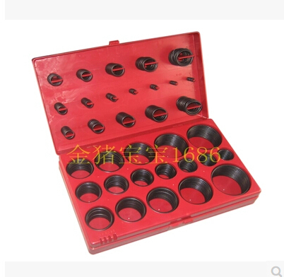 2015 big promotion407PC O type ring set / seal / repair kit / nitrile rubber O ring oil resistant type 0 ring / group 419pcs o rings sealing ring suit combination nitrile butadiene rubber oil resistant vehicle maintenance and repair tool box