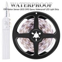 PIR LED Tape Motion Sensor Led Strip Cabinet Lamp Battery Cl