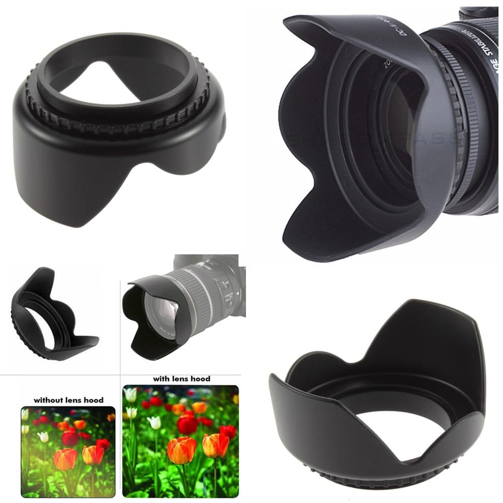 Fotodiox Reversible Flower Hood for Olympus M.Zuiko Digital ED 14-42mm f//3.5-5.6 EZ Kit Lens Detachable Tulip Lens Hood with Inner Pinch Cap for Micro Four Thirds Digital Camera