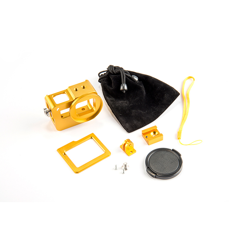 CNC Aluminiumlegierung Schutzhülle für GoPros HEROs 5 Schwarzer - Kamera und Foto