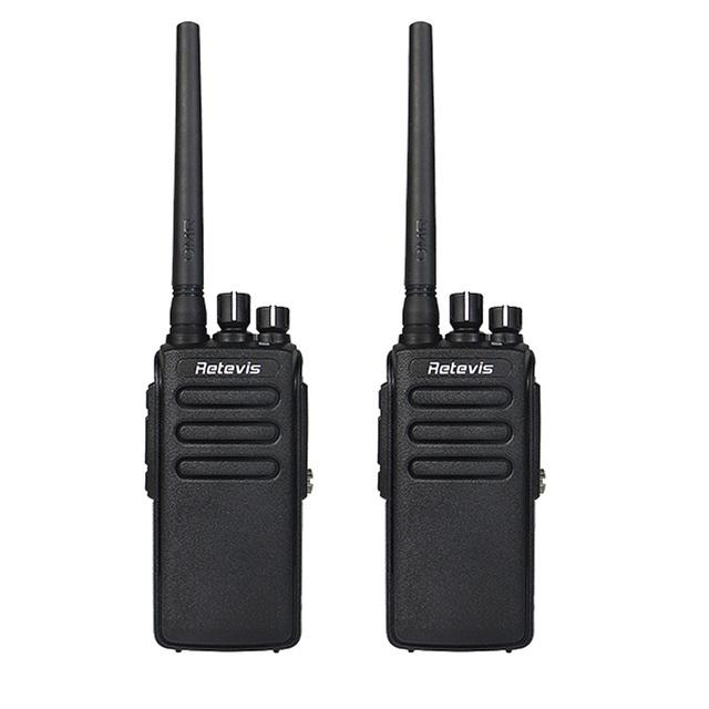 2 unids walkie talkie dmr digital/analógico 10 w retevis rt81 ip67 impermeable 32ch uhf 400-470 mhz vox cifrado a9119a radio portátil
