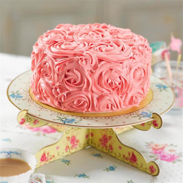 Aliexpress Buy Cardboard Cake Rack Cupcake 1 Layer 2 Sides