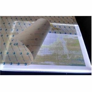 Image 5 - 2019 nowy diament malarstwo A4 LED lightpad cienki rysunek artystyczny podświetlana tablica śledzenie pisanie przenośny elektroniczny Tablet Pad