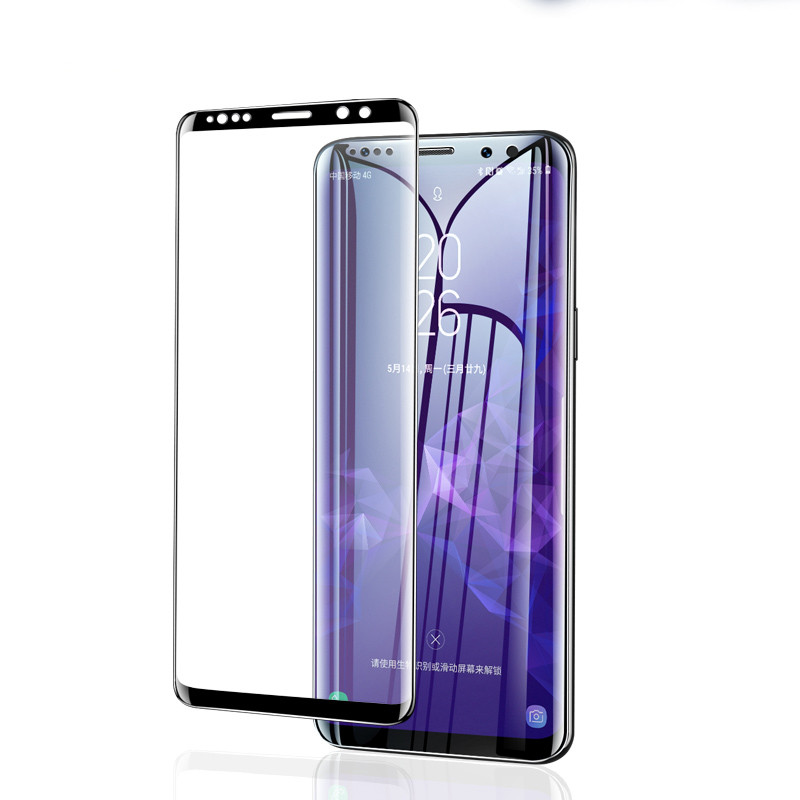20D Full Curved Protective Glass For Samsung Galaxy S8 S9 Plus Note 8 9 S7 Tempered Screen Protector For Samsung A8 A6 2018 Fil in Phone Screen Protectors from Cellphones Telecommunications