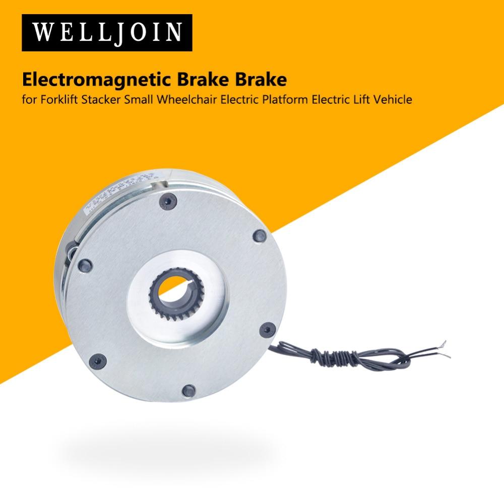 Frein électromagnétique tenant le frein pour le chariot élévateur empileur petit véhicule électrique de plate-forme d'ascenseur de fauteuil roulant électrique
