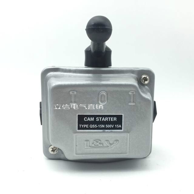 цена на AC500V 15A 3 Phase Manual Forward Reverse Cam Starter Combination Switch