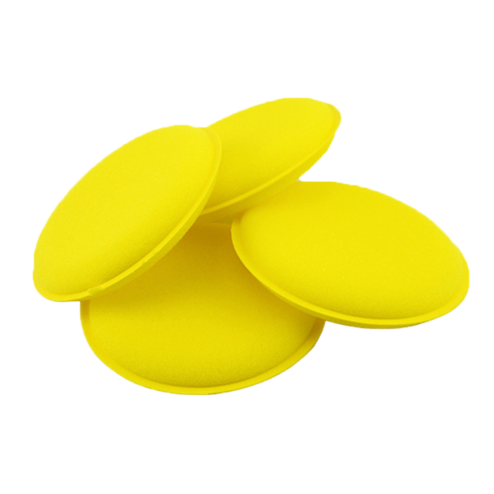 Image 4 - 12pcs Car Vehicle Wax Polish Foam Sponge Hand Soft Wax Yellow Sponge Pad Buffer Detailing Care Wash Clean Towel-in Sponges, Cloths & Brushes from Automobiles & Motorcycles