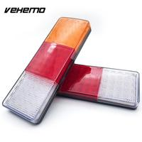 Vehemo Tail Lights Rear Lamps Warning Lights 75LED 4.5W 24V Super Bright Automobile Replacement Caravan