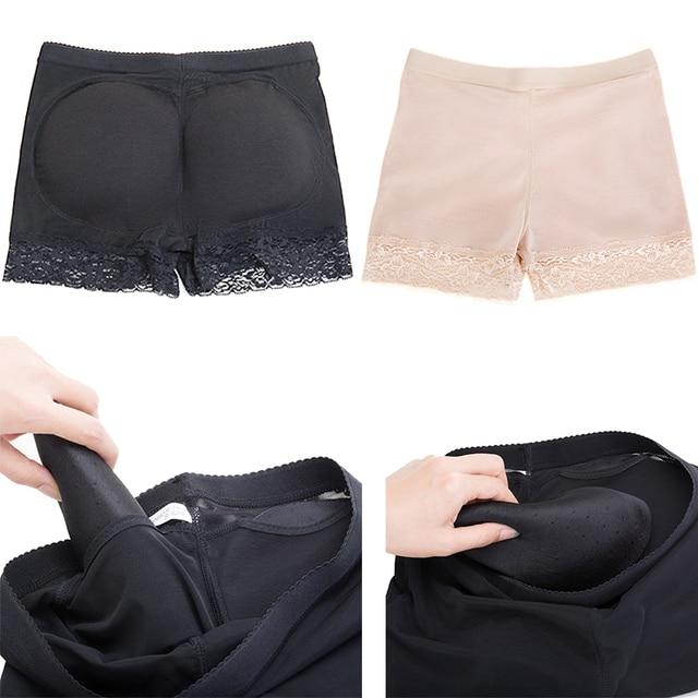 Women booty pads Panty Bum Butt Lifter Ass Big Control Panties Fake Hip Enhancer Shaper Brief Push Underwear Bottom Panty Push 4