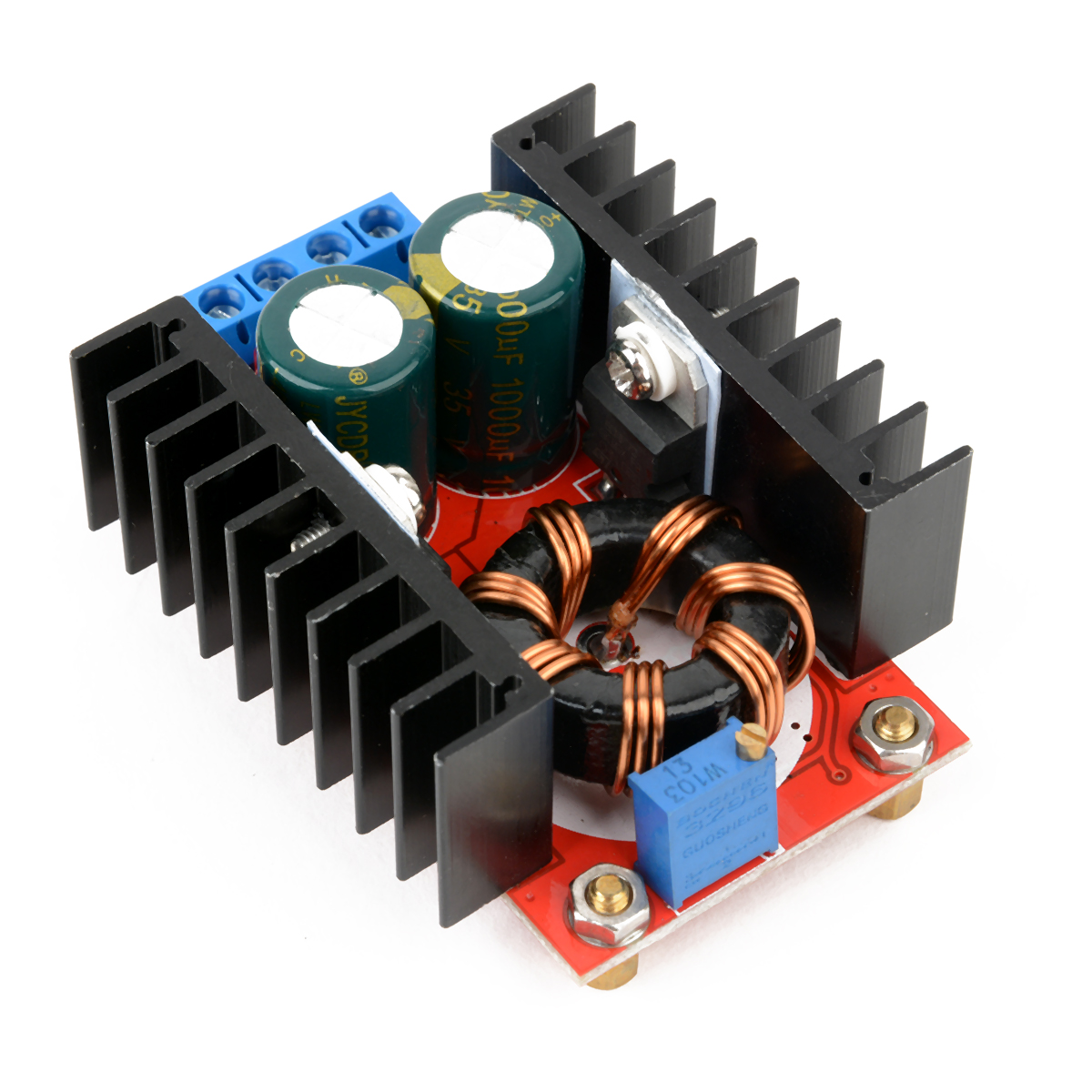 DC-DC Boost Converter Mayitr Step Up Charger Power Module Adjustable Static Power Supply Voltage Regulator 150W 6A