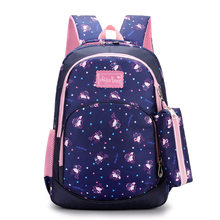 Waterproof Children School Bags for Girls Cartoon princess school Backpack Girl kids Satchel Schoolbag Kids Book Bag Mochilas(China)