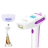 Electric Laser Hair Epilator LCD Display Depilador Permanent Hair Removal Device Laser Home 300000 Light Pulses