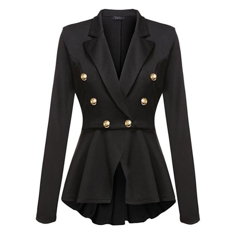 Women Blazer and Jackets Autumn Slim Ladies Blazer Office Work Wear Business Jacket Tunic Top Elegant Outwear Blazer feminino