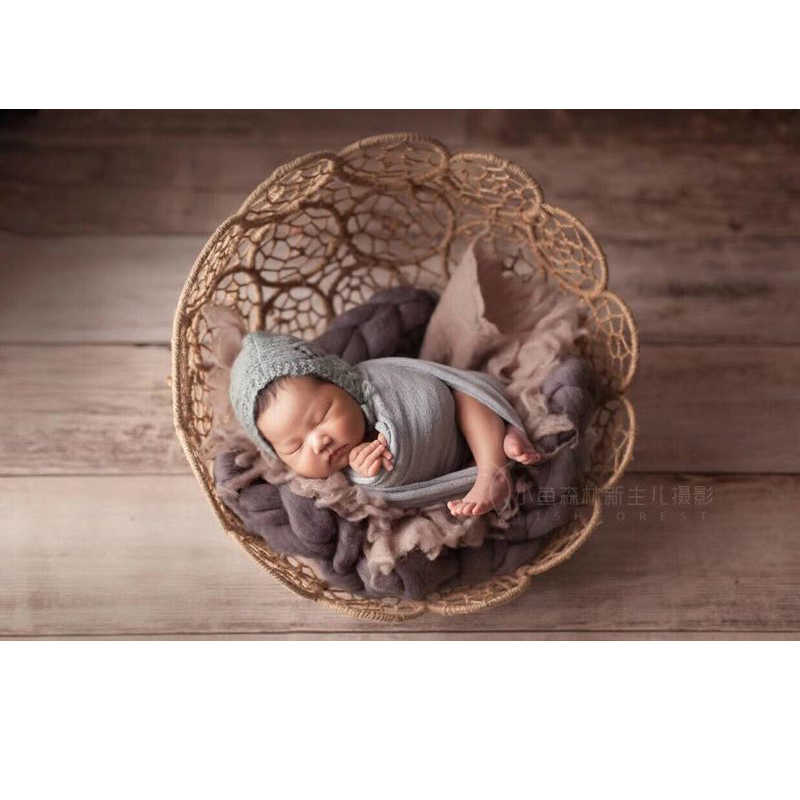 Envoltorio suave para recién nacido de 40x160 cm, envolturas de utilería para fotos de recién nacidos, accesorio elástico para fotografía, envoltura única de queso, queso elástico
