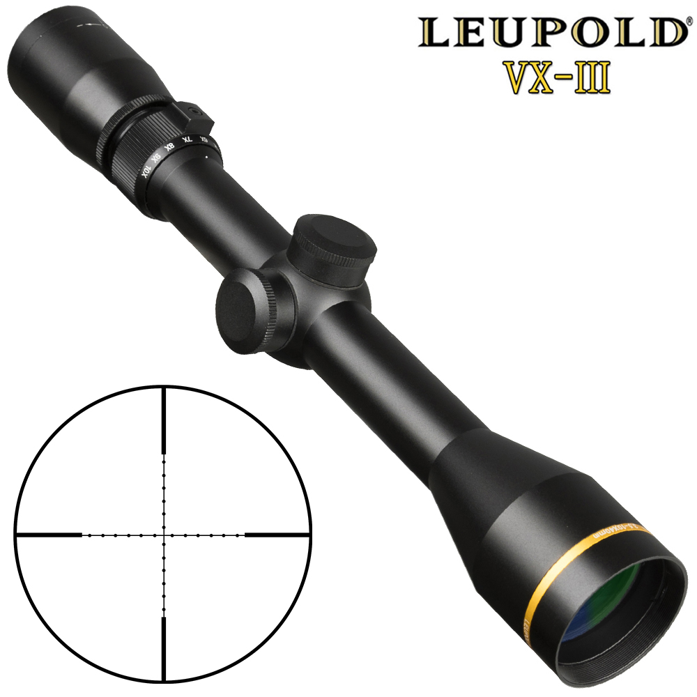 Leupold VX3 Tactical 3.5-10x40 Scope Mil Dot Riflescopes Optic Sight 3-9x40 4.5-10x40 Hunting Scopes For Airsoft Gun With Mount