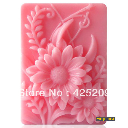 supernova sale new 2017 3D silicone soap mold, plants flower  mould,fondant molds,silica gel mould,silicon mold mould  wholesale