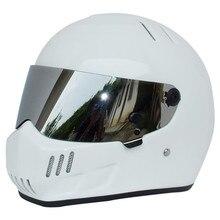 Envío gratis VENTA CALIENTE 2015 nuevo diseño ATV-6 Simpson StarWars Cascos de Moto casco de carreras Exporta a Japón
