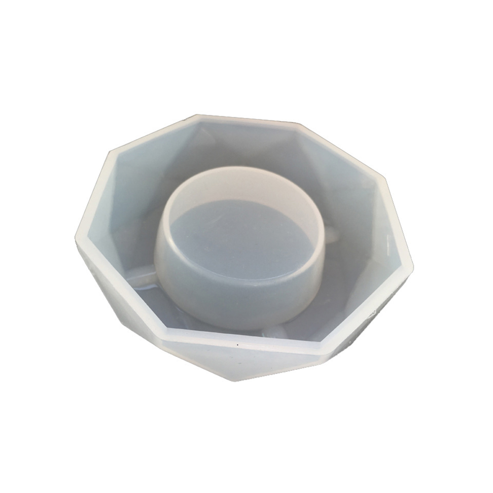 Silicone Mold Ashtray Epoxy Resin Plaster Cement DIY Jewelry Making Cake Craft