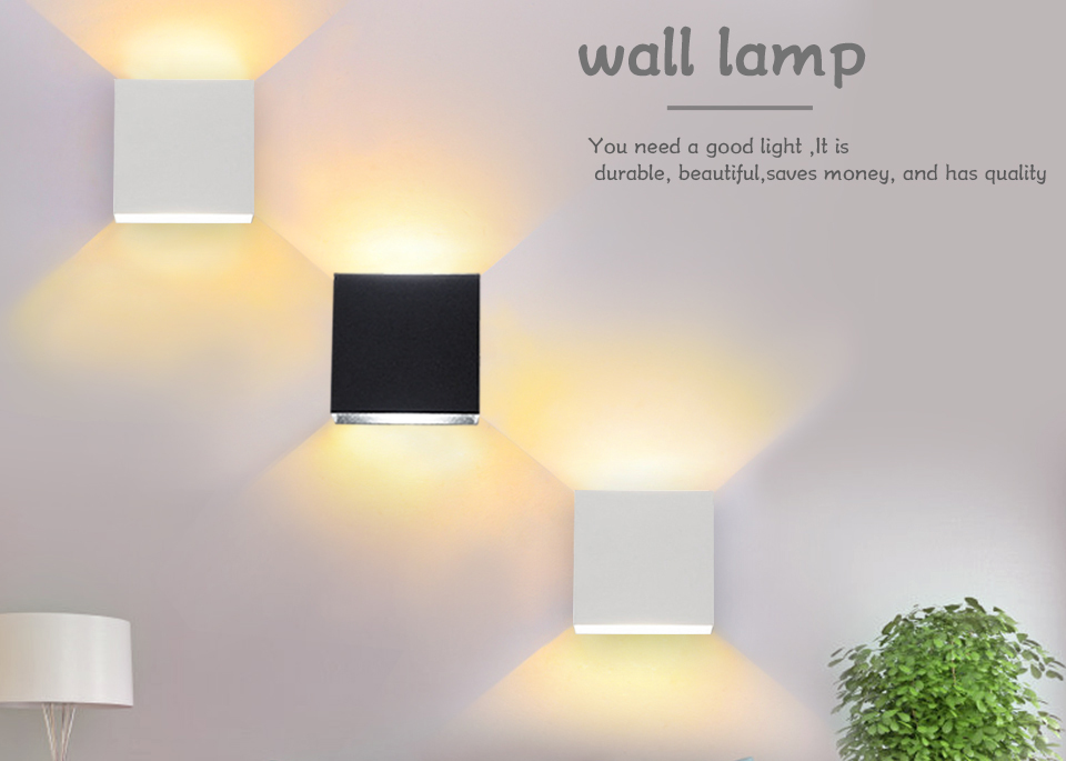 LED Diode Wall lampada  For Bedroom Living Room (1)
