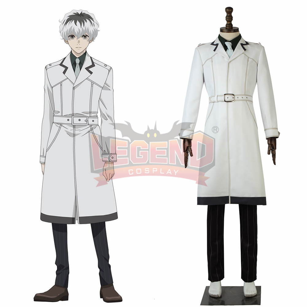 Anime Tokyo Ghoul re 3 Sasaki Haise Kaneki Ken Cosplay adult costume 2018 outfit custom made halloween men costume