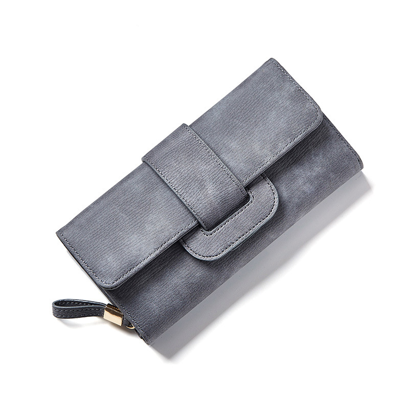 New Women Wallet Multifunctional Money Purse BigThree Folding Change Closure Drew-string Bank Card Coin Bag More Card Slots Huge women agraffe wallet multifunctional zipper purse long style closure huge capacity fashion hand money bag more card slots for ph