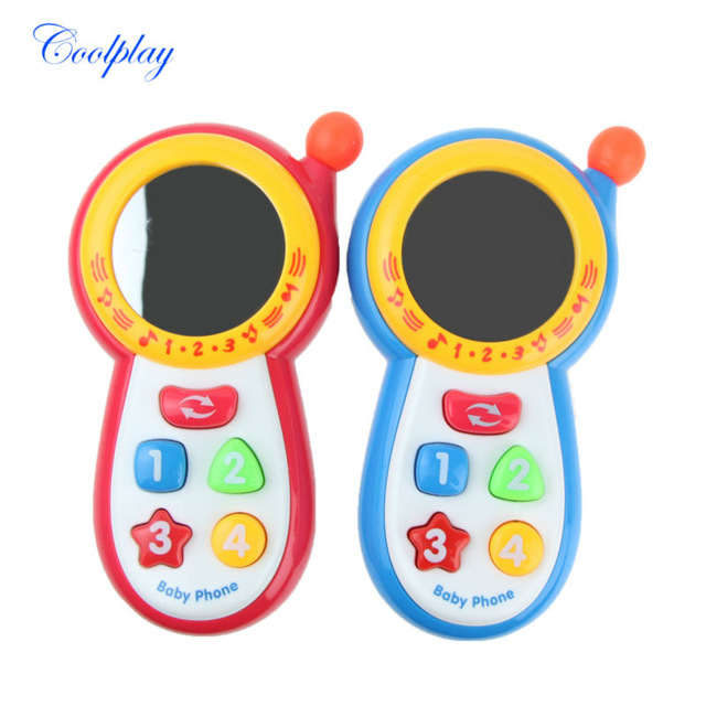 Baby Toy Educationl Learning Toys Musical Sound Cell Phone Mobile Cute Phone Toys For Babys