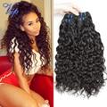 Brazilian Virgin Hair Water Wave 4 Bundles Wet And Wavy Cheap 6A Brazilian Water Wave Human Hair Extension 8-30 Inch Vip Beauty