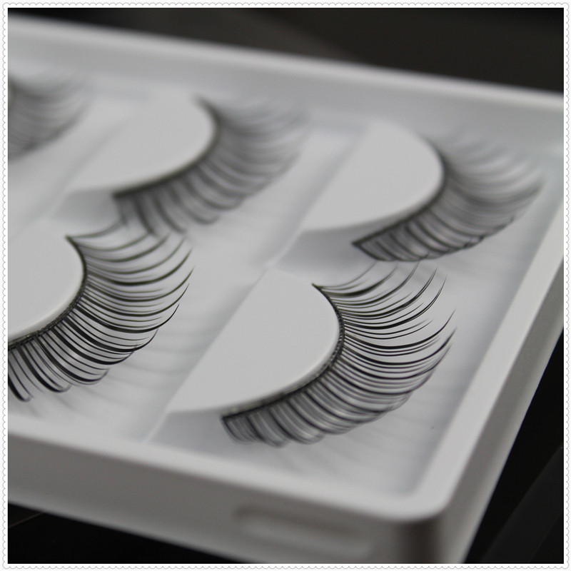 5 pairs False eyelash Professional eyelash natural long fake eye lashes nude makeup eyelashes extensions
