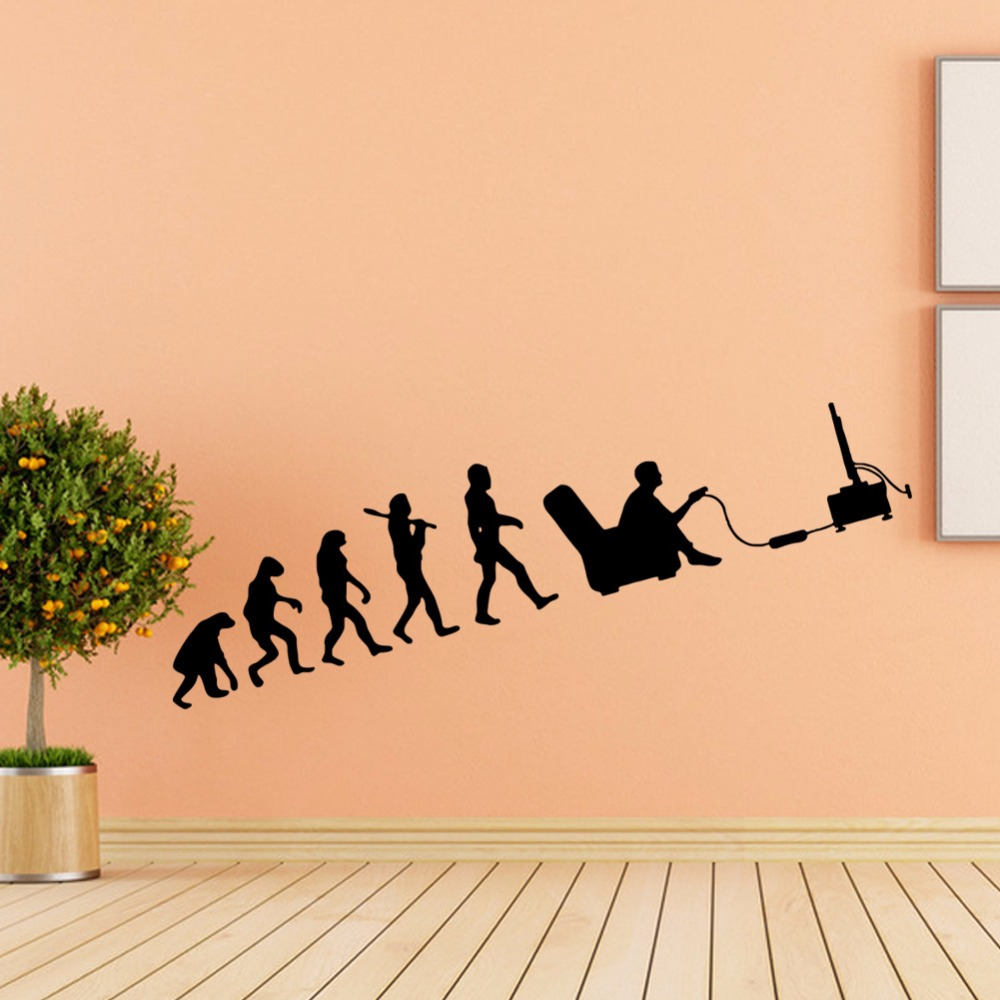 History of human evolution vinyl decals wall stickers home decor ...