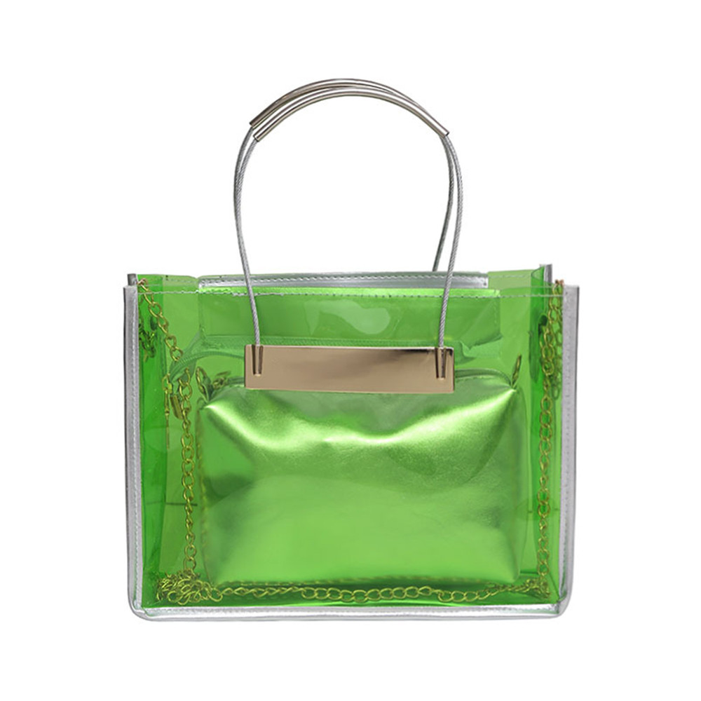 Popular Transparent Beach Bag-Buy Cheap Transparent Beach Bag lots ...