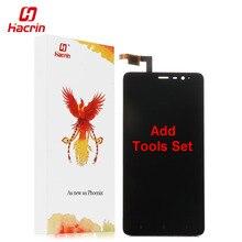 Hacrin Xiaomi Redmi Note 3 ЖК-дисплей Дисплей Сенсорный экран с ключевыми света FHD планшета Ассамблеи Замена для Pro премьер черный, белый цвет