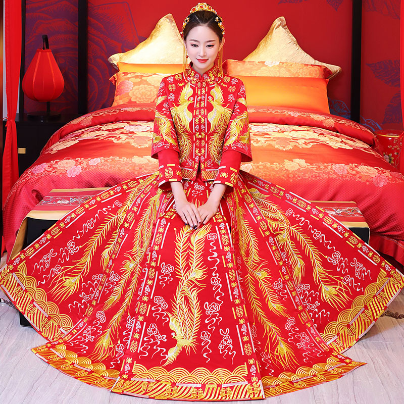 Oriental Asian Bride Beauty Chinese Traditional Wedding