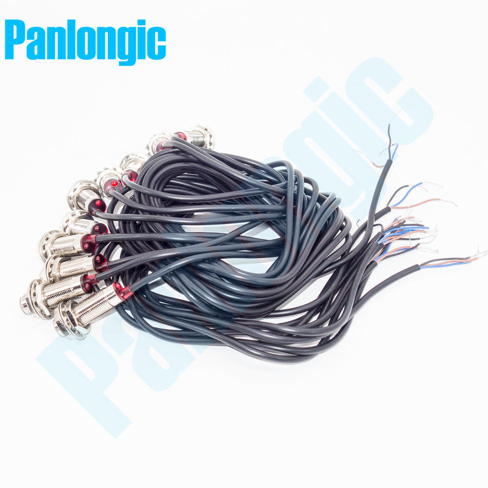 2Pcs NJK-5001A PNP NO 10mm Hall Effect Sensor Proximity Switch DC 6~36V US