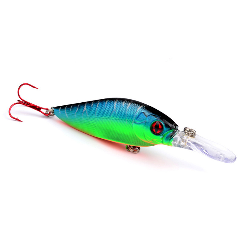1Pcs Minnow Fishing Lure 11cm 11.7g 4 hooks Wobbler Crankbait Isca Artificial Swimbait Hard Carp Fishing Tackle WQ8045 trulinoya fishing lures 120mm 40g minnow bait hard lure crankbait jerkbait carp fishing wobbler isca artificial swimbait